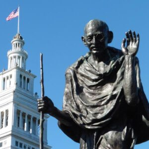 Gandhi hikes the 49 Scenic Drive every day!