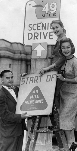 1955-New-49-Mile-sign