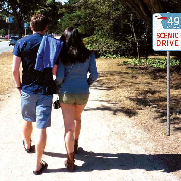 Romantic walk along San Francisco's 49 Mile Scenic Drive