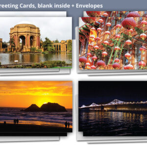 SF 49 Mile Drive Greeting Cards 8-pack
