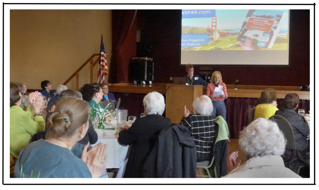 authors local experts guest speakers San Francisco Retired Teachers